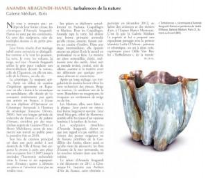 Revue Ceramique&Verre article N°190